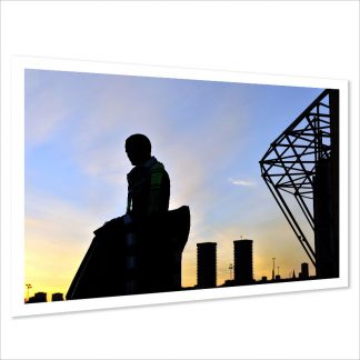 Brother Walfrid Silhouette Photo Print