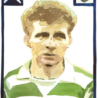 Jimmy Johnstone Print (Adrian McMurchie)