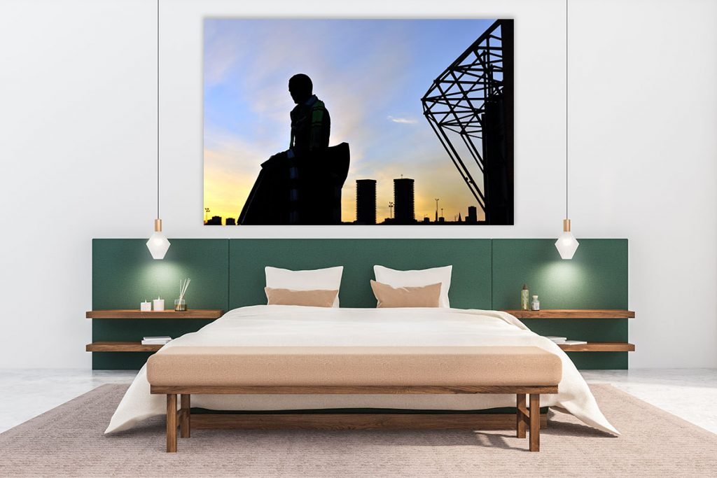 Massive canvas Brother Walfrid