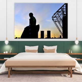 Brother Walfrid Silhouette Canvas (XL-Massive)