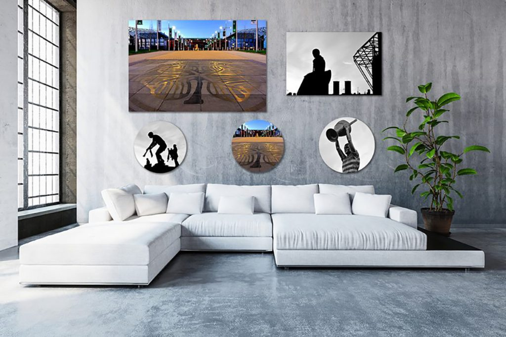 Turn your home into a gallery