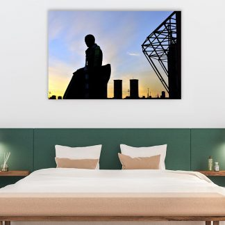 Brother Walfrid Silhouette Acrylic Glass (Large)