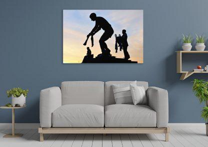 Shoulders of Giants - Canvas