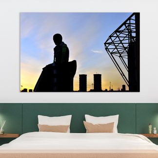 Brother Walfrid Silhouette -Canvas